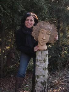 """Jutta Buß mit """"Frau Allofs"""""""