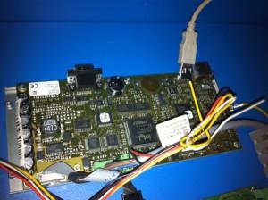 Fehler USB Kabel an der CPU